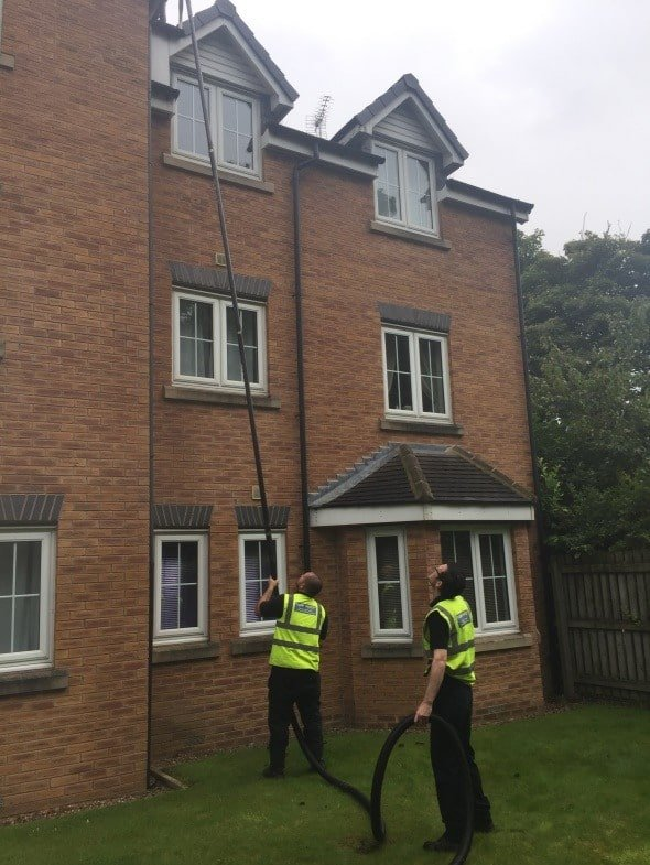 Gutter cleaning in Leeds