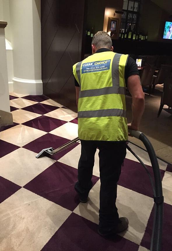 High Standard Carpet Cleaning