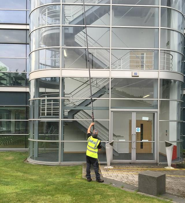Clear Choice provide comprehensive window cleaning services