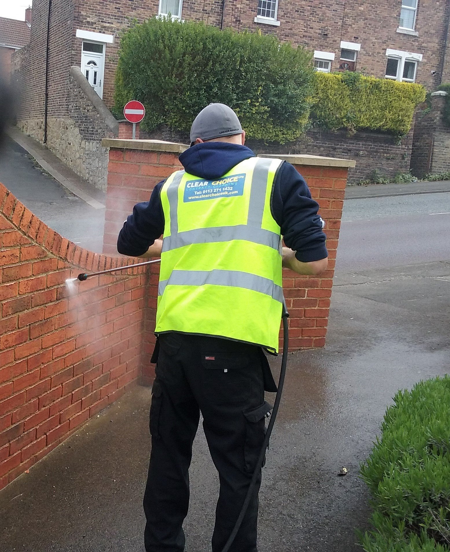 Clear Choice graffiti removal services