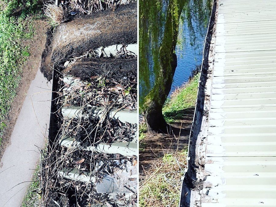 Industrial Gutter Cleaning