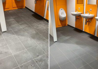 Washroom Builders' Clean