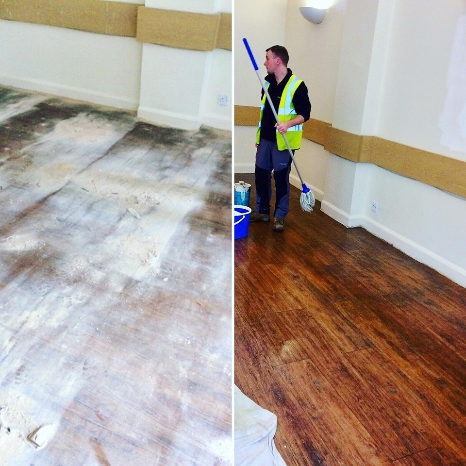 Builders cleaning services we offer