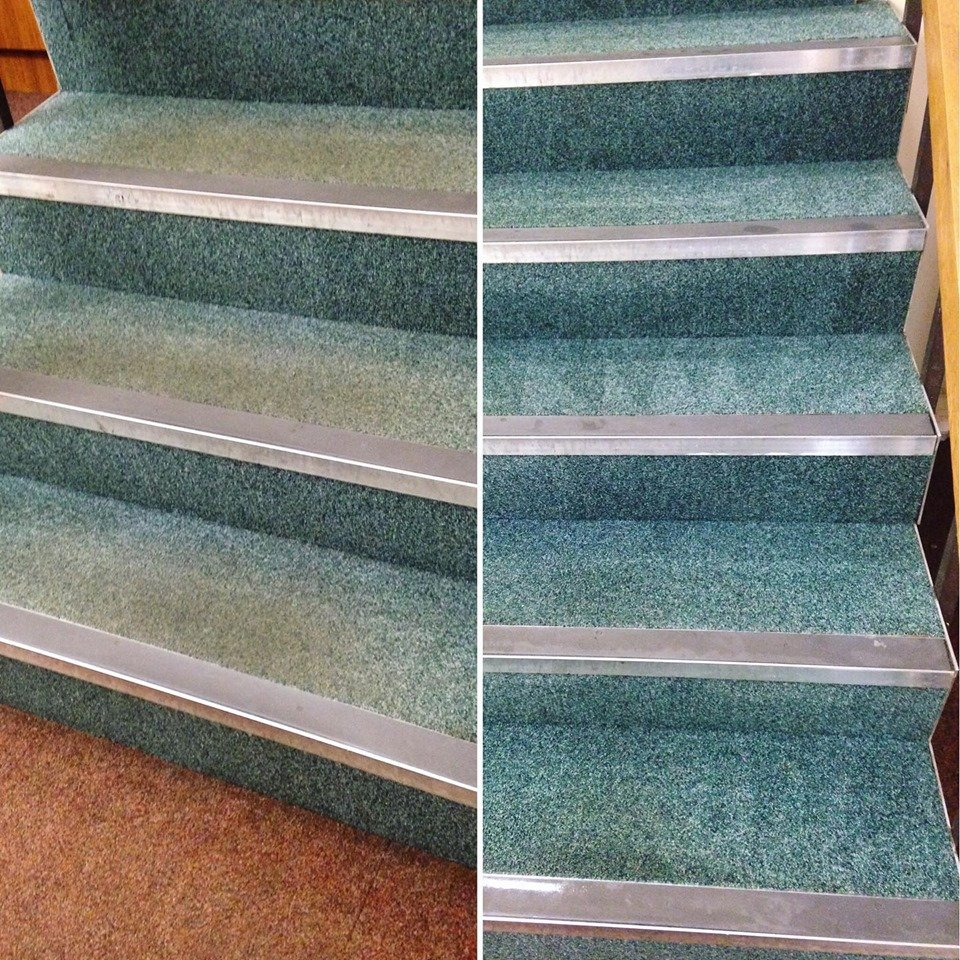 Commercial carpet cleaning by Clear Choice