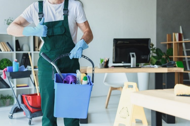 Different types of office cleaning services