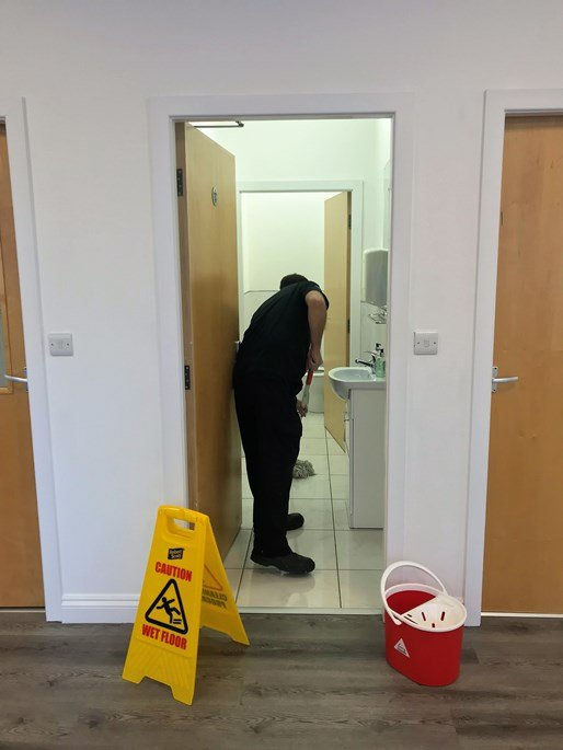 School building and facilities cleaning services in Leeds