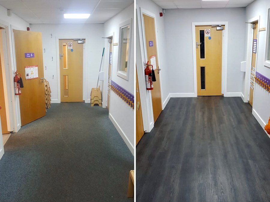 Floor & Painting Refurbishment – Before & After