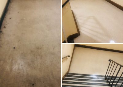 Stairs & Floor Deep Clean – Before & After