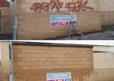 Graffiti Removal – Before & After