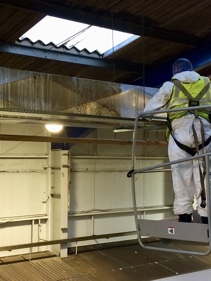 Cleaning factory and industrial facilities with the latest technology and safest methods