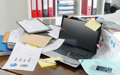 Most significant factors of an untidy workplace
