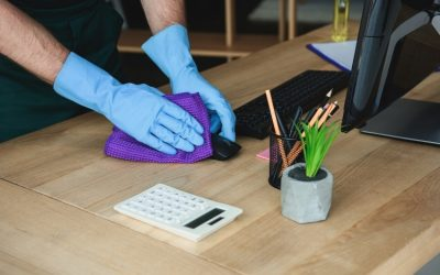 Keeping your workplace clean during COVID19
