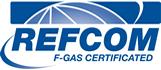 REFCOM F-GAS Certificated Official Logo