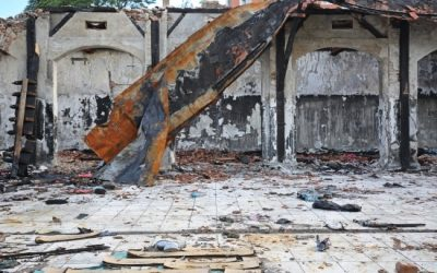 How to Respond to Fire Damage to a Commercial Property
